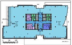 """משרדים  750 מ""""ר להשכרה במגדל משרדים מפואר באזור התעשייה החדש במערב ראשון לציון"""