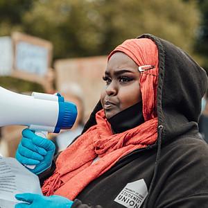 BLACK LIVES MATTER PEACFUL PROTEST 2020