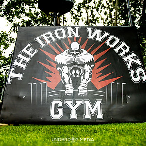IRON WORKS GYM OUTDOOR PT AREA