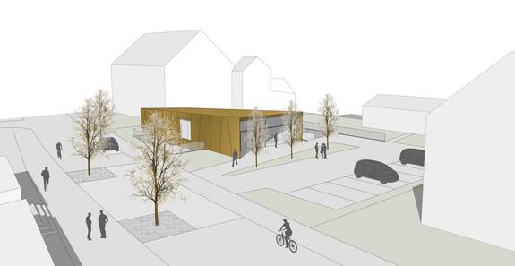 Projektwettbewerb Neubau Kirchgemeindehaus