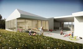 Projektwettbewerb Neubau Doppelkindergarten