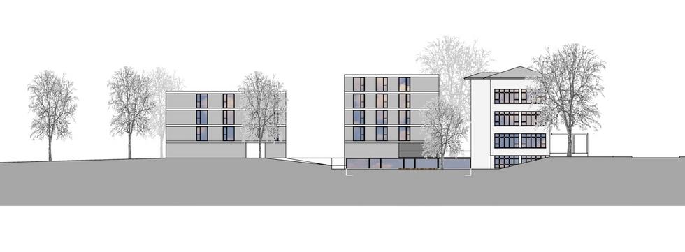 Projektwettbewerb Neubau Wohnheim mit Tagesstätte für Behinderte