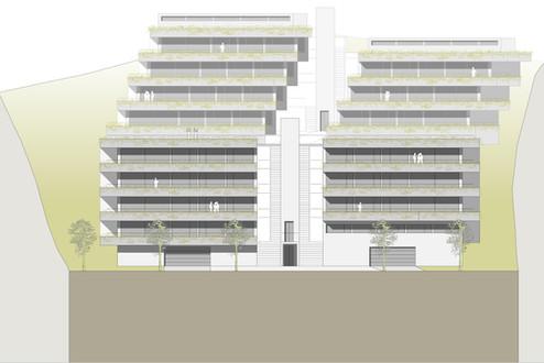 Studienauftrag Neubau Terrassenhäuser