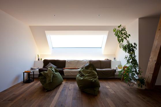Einbau Wohnung in Dachstock