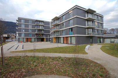 Neubau Wohnheim mit Tagesstätte für Behinderte
