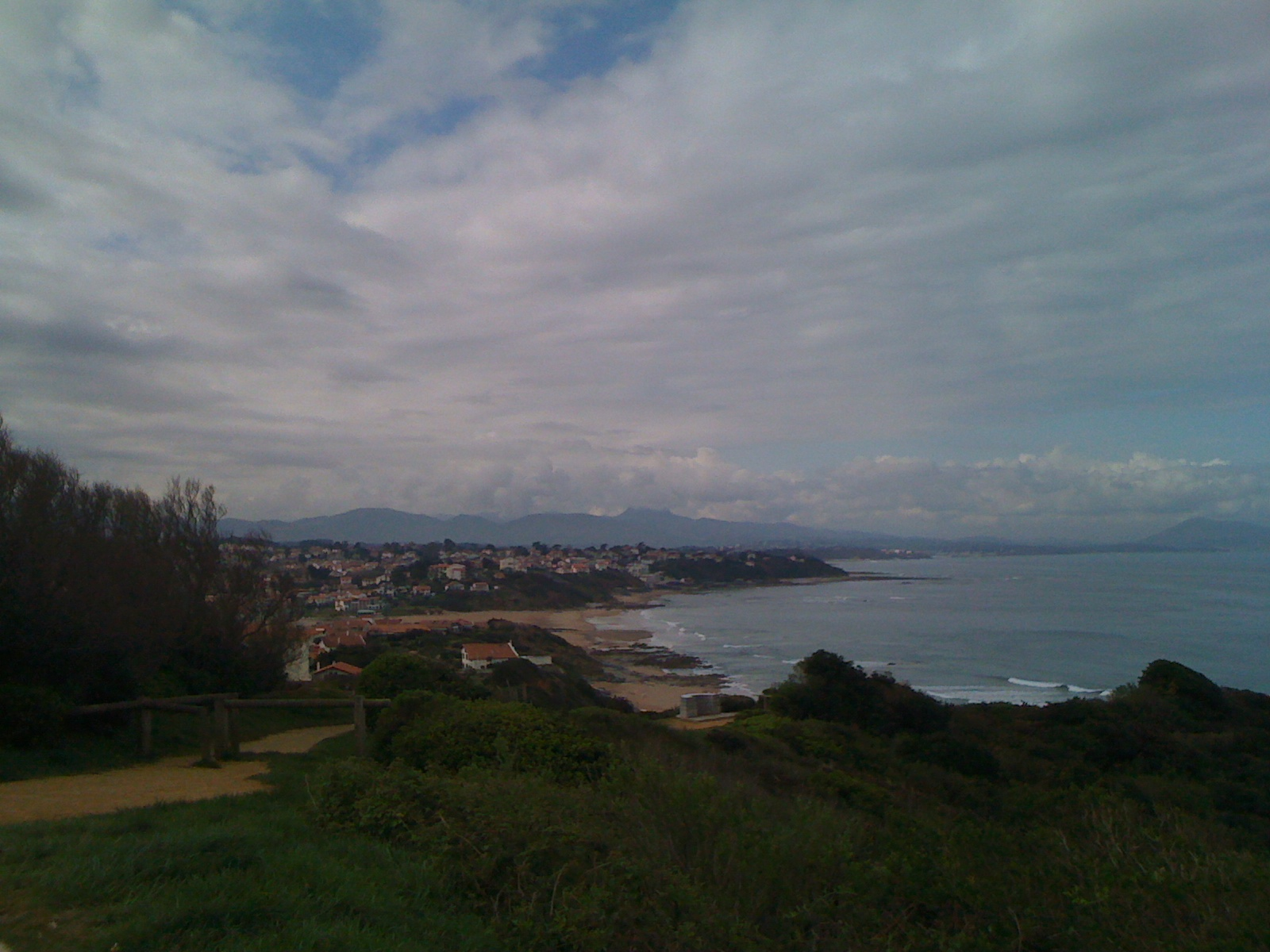 The Coast view from Bidart