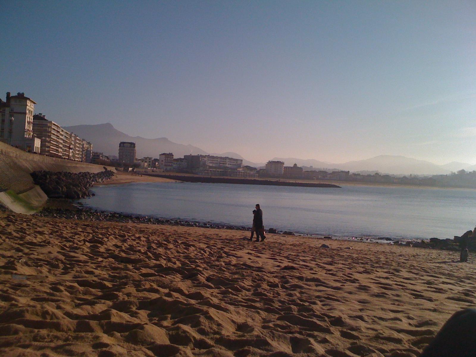 Saint Jean de Luz The beach