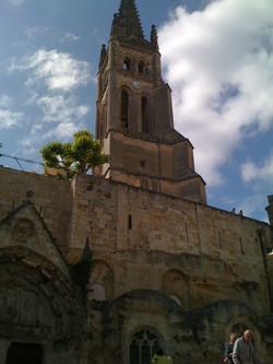 L'Eglise troglodyte de St Emilion