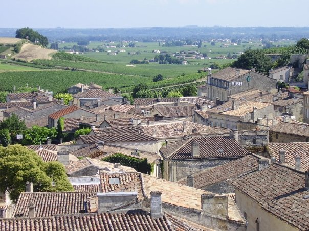 Roof of Saint Emilion