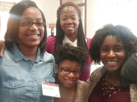 Chi Sci Scholars attend the 2017 Conference on Undergraduate Women in Physics at UW- Madison!