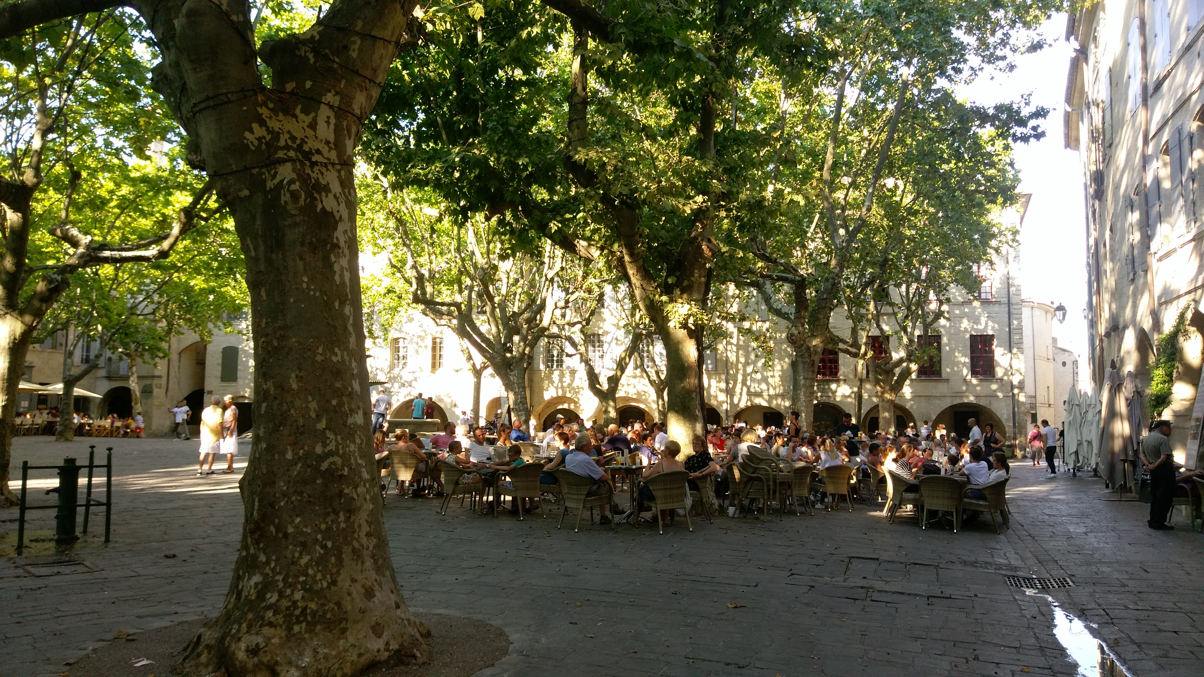 Main Plaza in Carcassonne