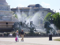 La Fontaine Place des Quinconces