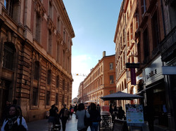 The red street Toulouse Ze Chauffeur