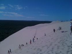 Tallest San Dune in Europe