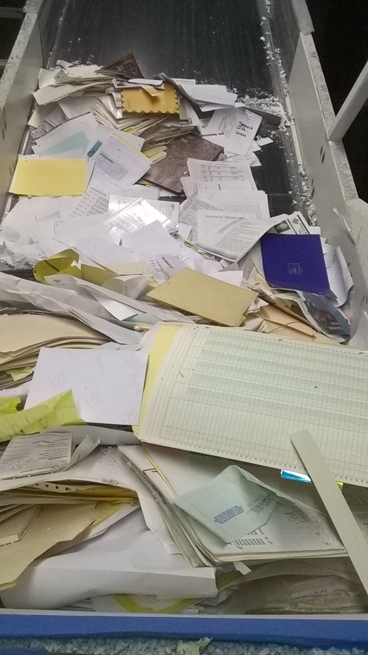 loading files for shredding