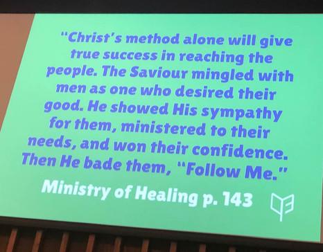 Christ's Method