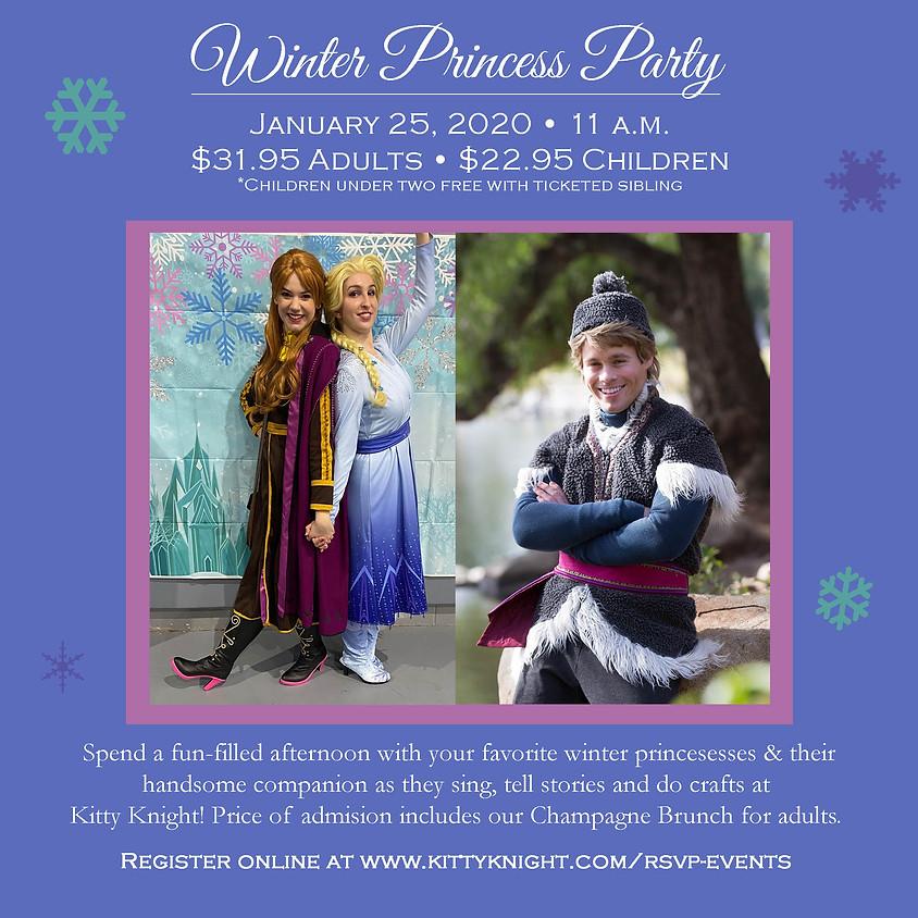 Winter Princess Party at Kitty Knight