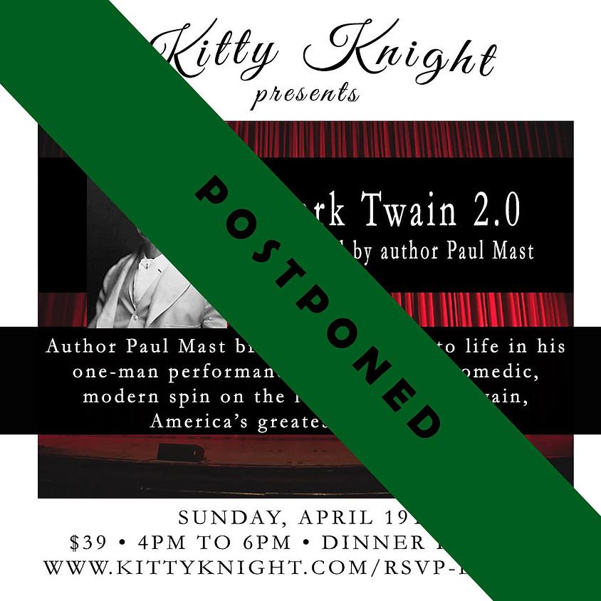 """""""Mark Twain 2.0"""" & Dinner Buffet"""