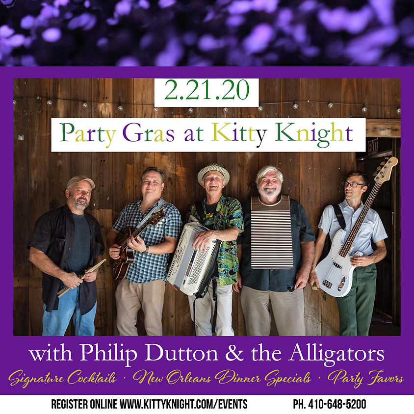 Party Gras at the Kitty!
