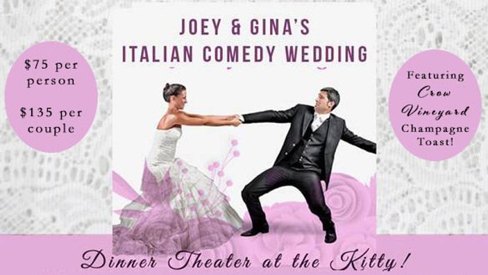 Joey & Gina Italian Comedy Wedding