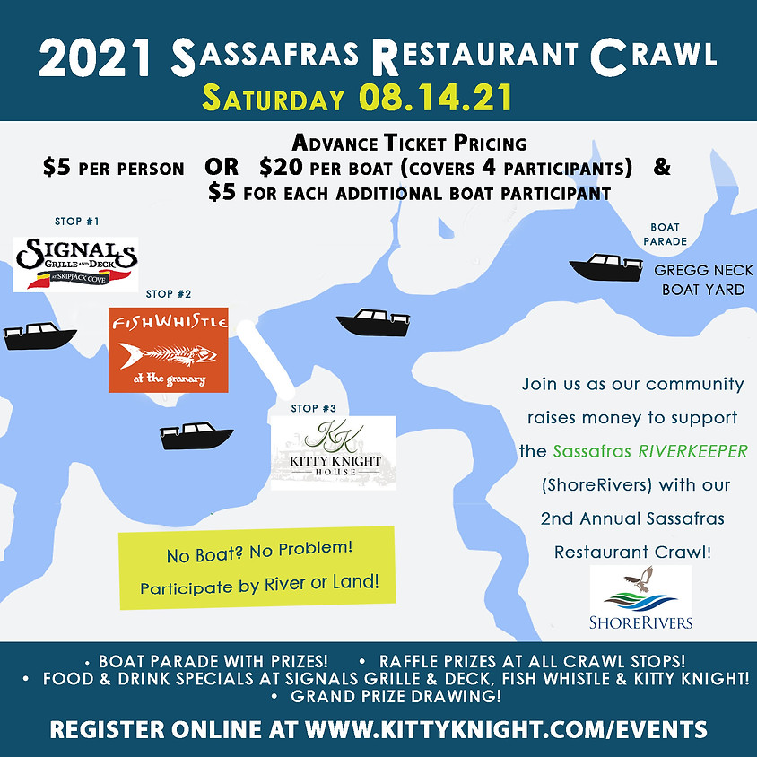 Sassafras Restaurant Crawl