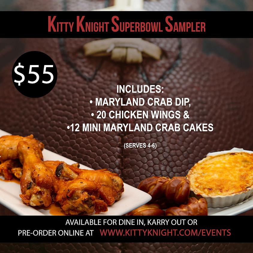Kitty Knight Super Bowl Sampler