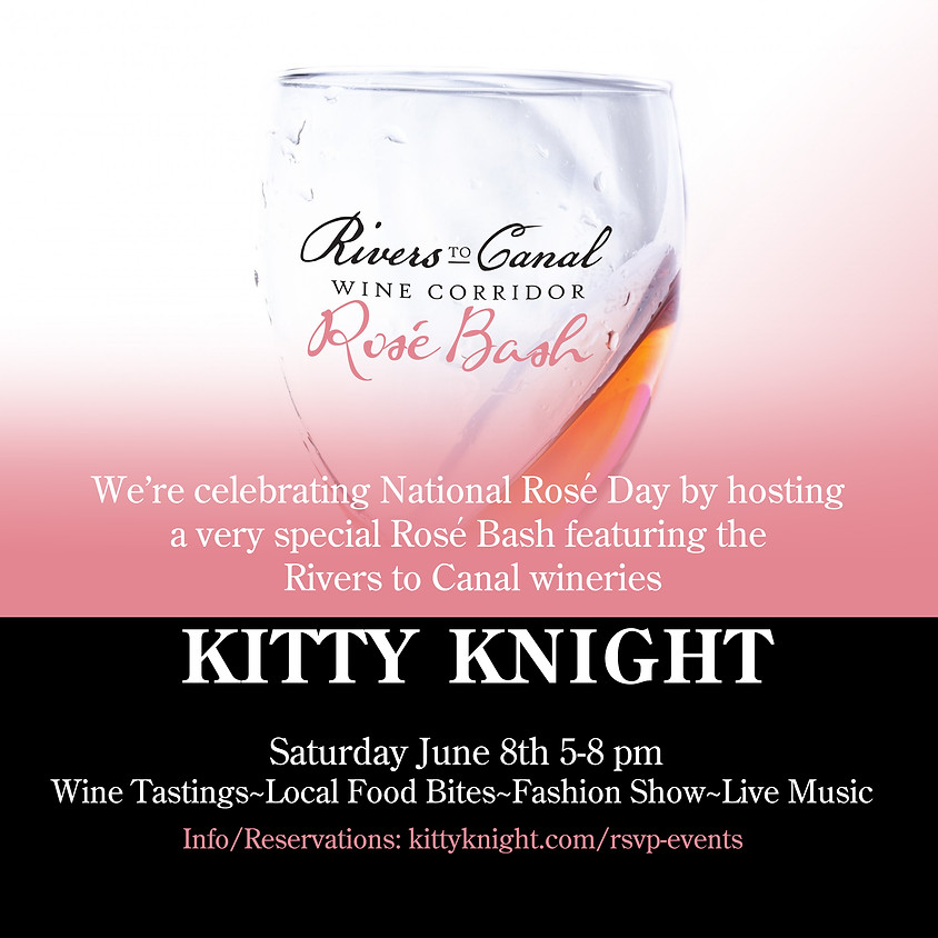 Rivers to Canal Rosé Bash Cheers to National Rosé Day