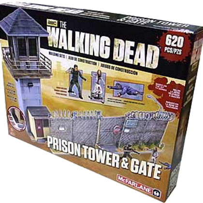 Prison Tower and Gate Playset