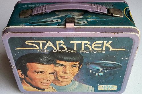 Star Trek Metal Lunchbox