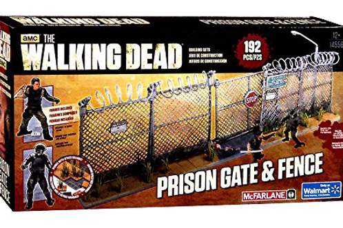 Prison Gate and Fence Playset
