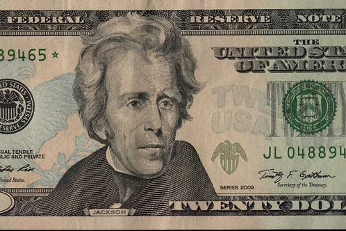 US $20.00 Star Note 2009