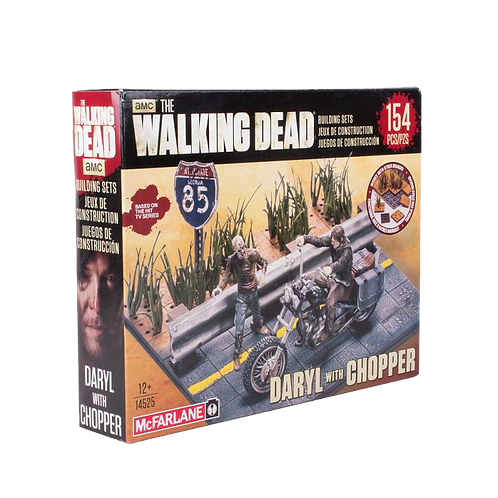 Daryl with Chopper Playset