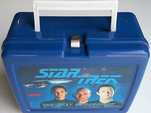 Star Trek : TNG Plastic Lunchbox