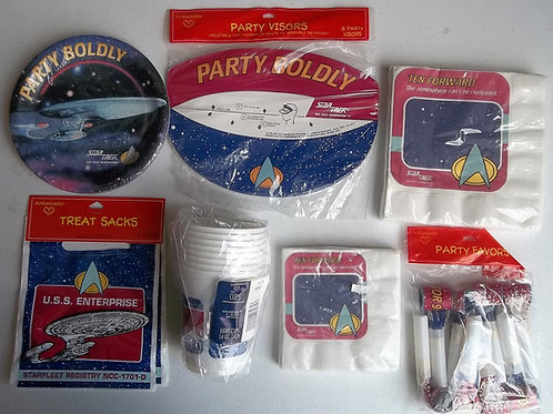 Star Trek : TNG Party Supplies Set