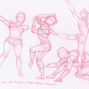 Tia (15) Dance Poses