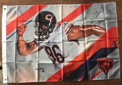 Akiem Hicks Bears Flag