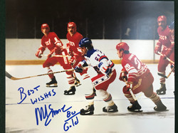 Mike Eruzione Autographed Photo