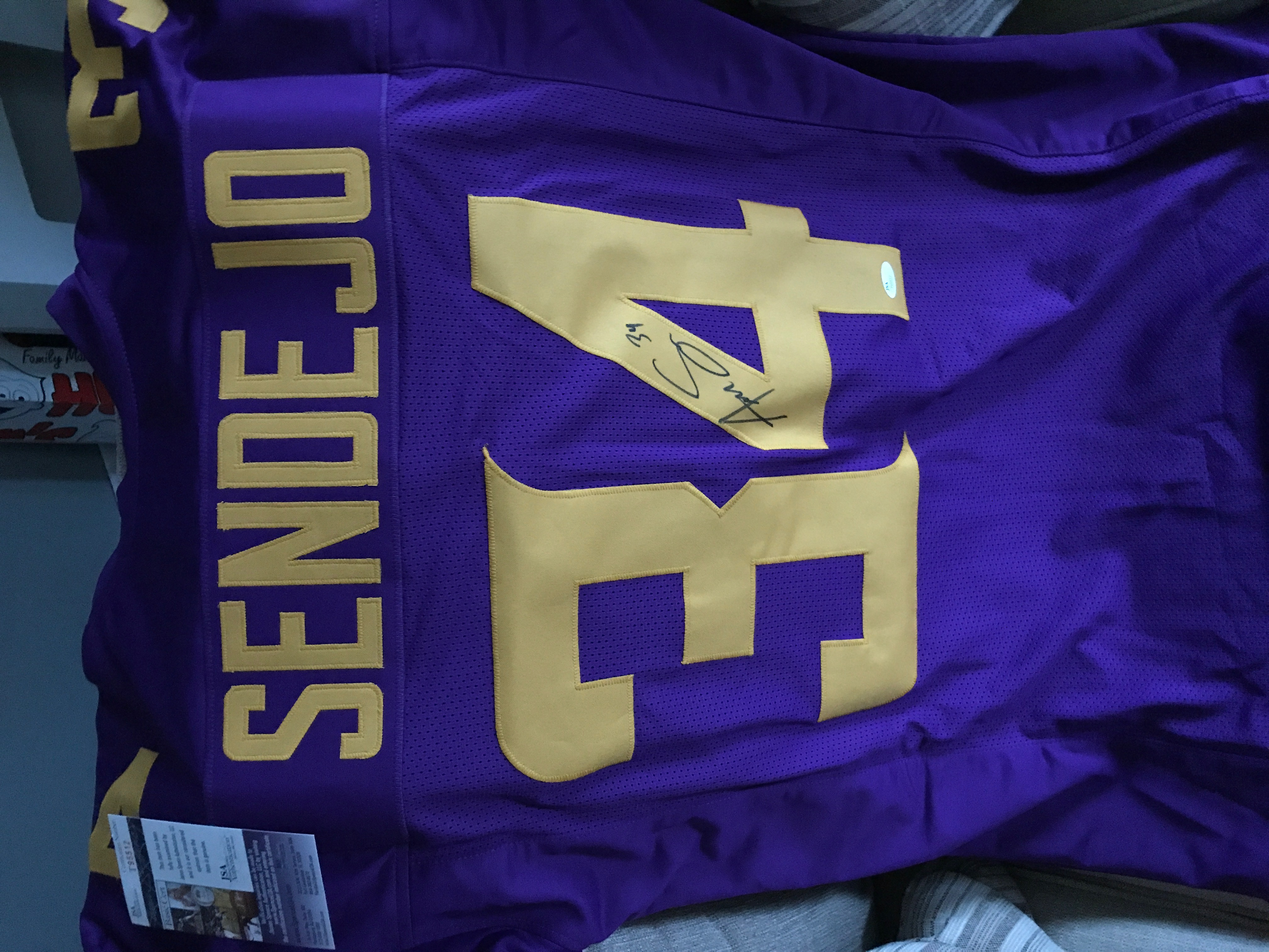 Andrew Sendejo Vikings Jersey