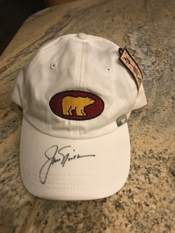 Jack Nicklaus Autographed Hat