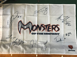 Monsters of the Midway Flag