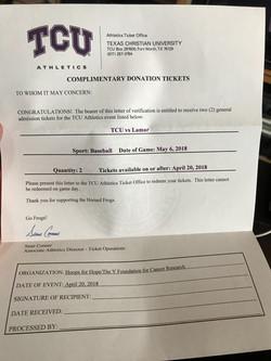 TCU vs Lamar Baseball Tickets