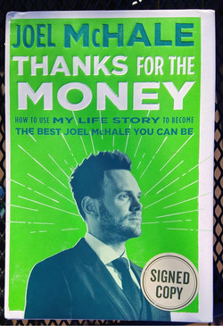 Thanks for the Money signed by author Joel McHale