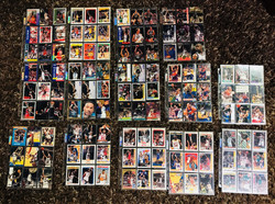 14 Pages of Basketball Cards