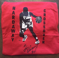 Autographed Red Hardaway Crossover T-Shirt