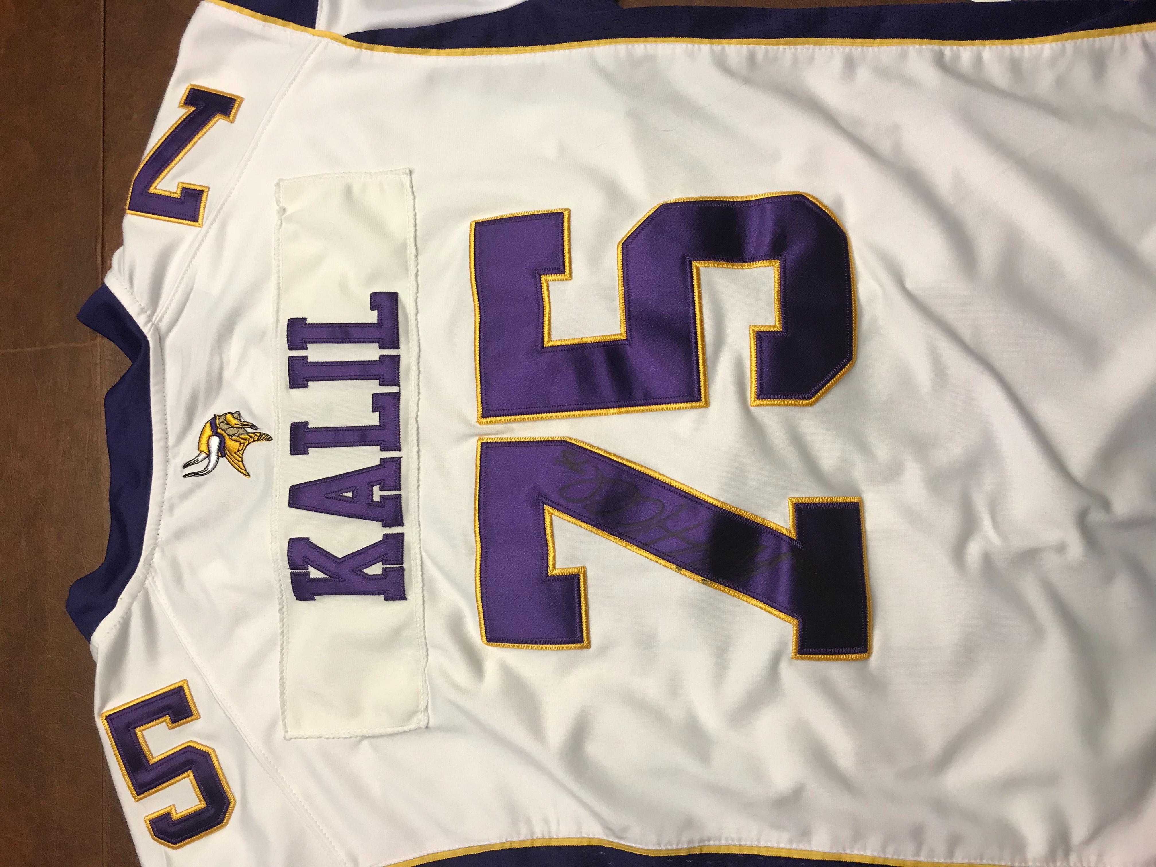 Matt Kalil Vikings Jersey
