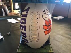 Dabo Swinney (Clemson HC) Autographed Clemson Football