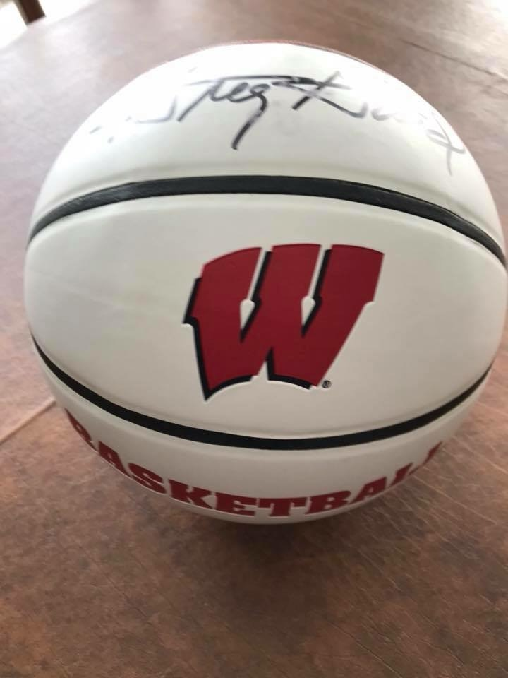 Greg Gard Wisconsin Badger B-Ball