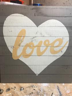 """Love"" Sign"
