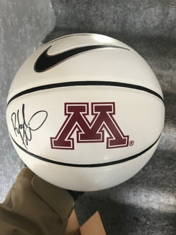Richard Pitino Autographed MN B-Ball