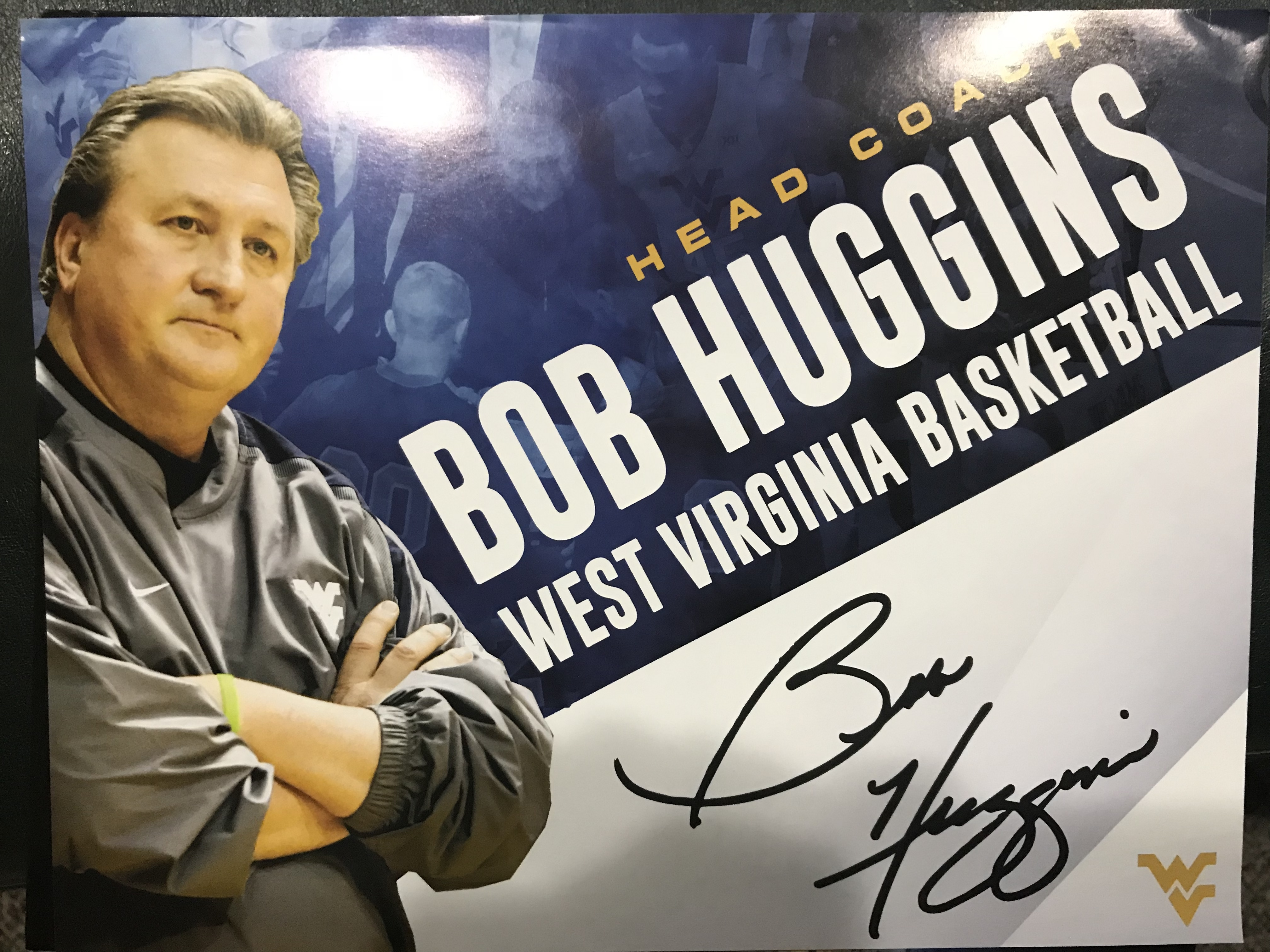 Bob Huggins WVU 8x10